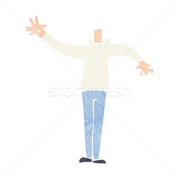 Cartoon maschio corpo match Foto d'archivio © lineartestpilot