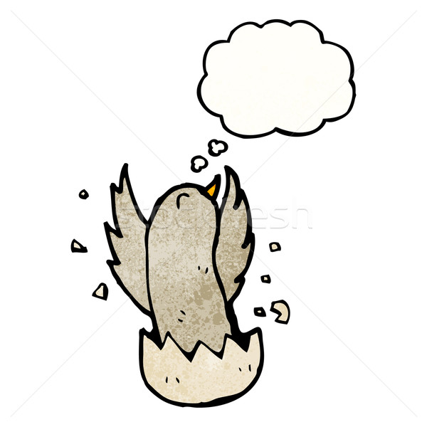 cartoon bird hatching Stock photo © lineartestpilot