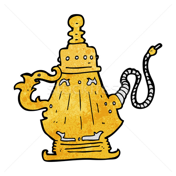 Stock photo: cartoon hookah
