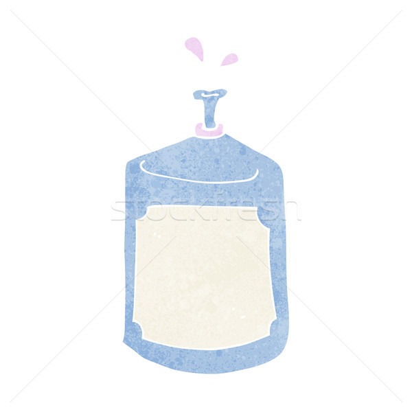 cartoon squirting bottle Stock photo © lineartestpilot