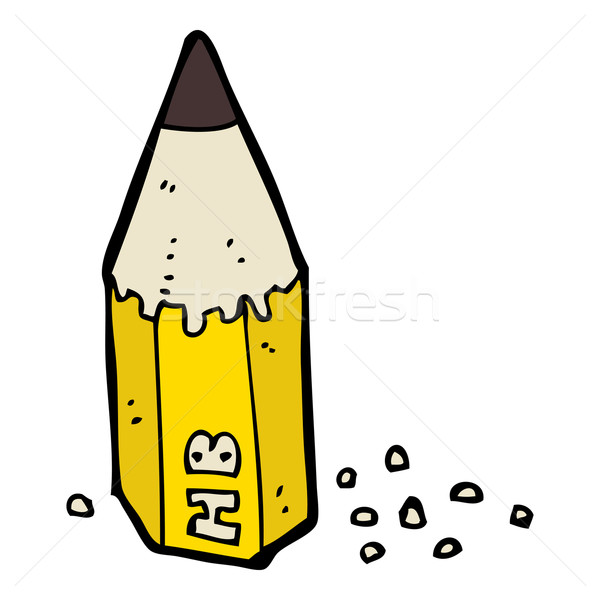 cartoon pencil stub Stock photo © lineartestpilot
