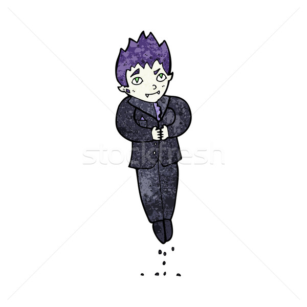 Cartoon vampire main homme design Photo stock © lineartestpilot