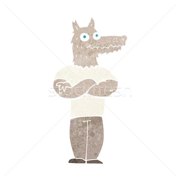 cartoon werewolf Stock photo © lineartestpilot