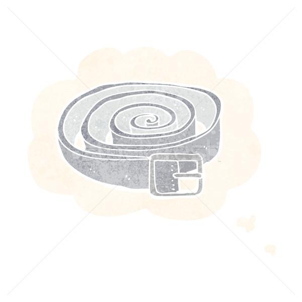 漫画 革 ベルト 思考バブル 手 デザイン ストックフォト © lineartestpilot