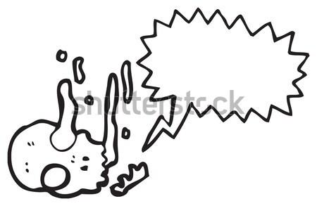 Desenho animado bomba projeto arte retro engraçado Foto stock © lineartestpilot