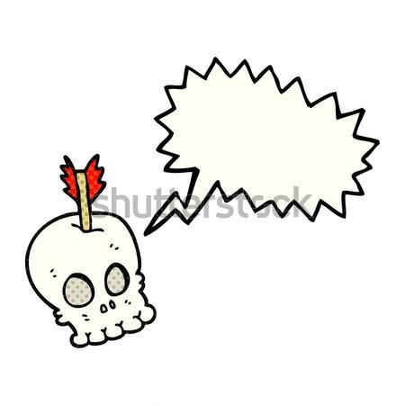 漫画 燃焼 爆弾 思考バブル 手 デザイン ストックフォト © lineartestpilot