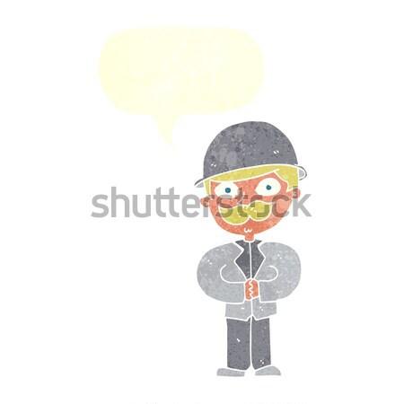 comic cartoon school boy Stock photo © lineartestpilot