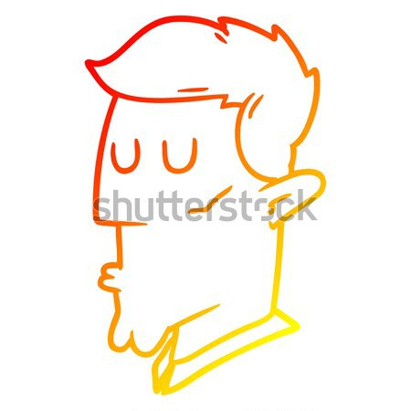 Desenho animado bomba fumador charuto textura mão Foto stock © lineartestpilot