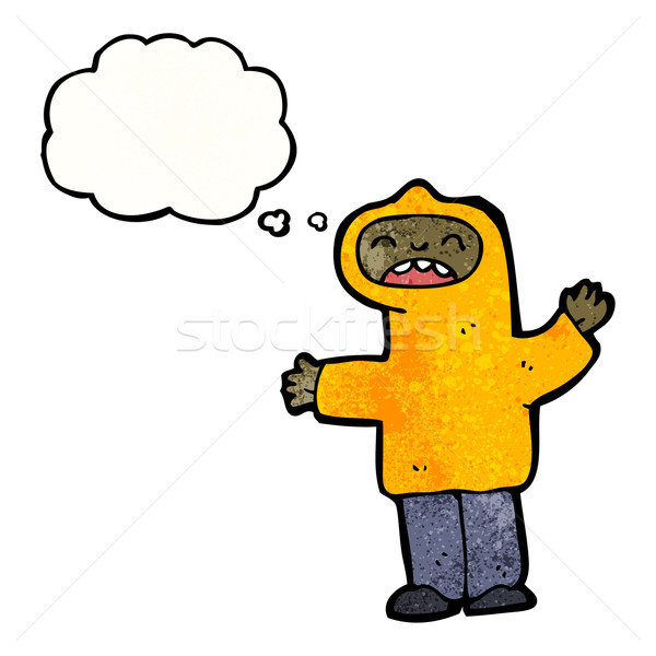 cartoon boy in hoody Stock photo © lineartestpilot
