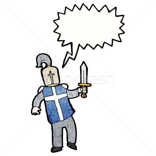 cartoon knight Stock photo © lineartestpilot