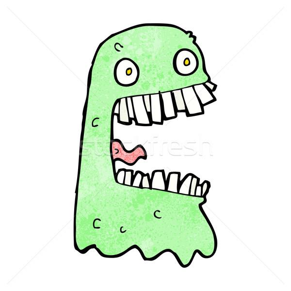 cartoon gross ghost Stock photo © lineartestpilot