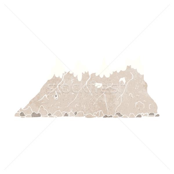 cartoon mountain range Stock photo © lineartestpilot