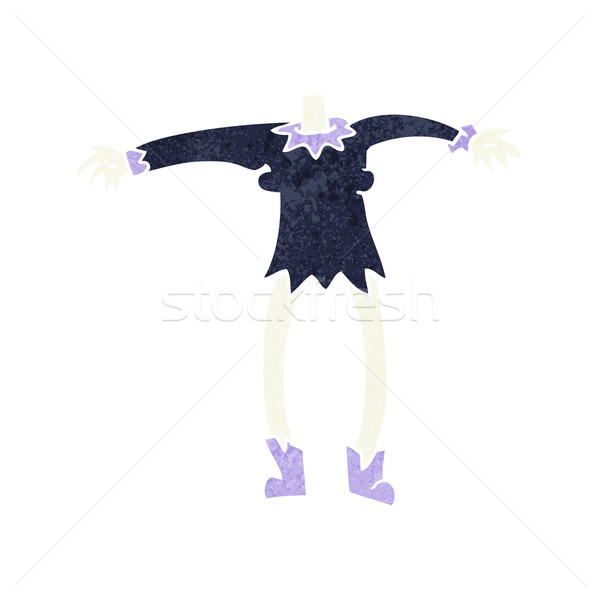 cartoon vampire body (mix and match cartoons or add own photo he Stock photo © lineartestpilot