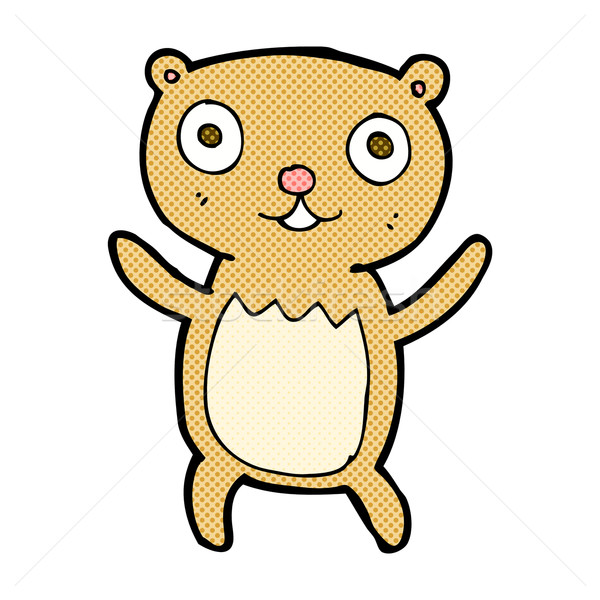 comic cartoon teddy bear Stock photo © lineartestpilot