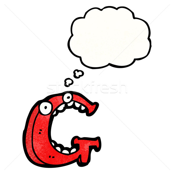 cartoon letter g Stock photo © lineartestpilot