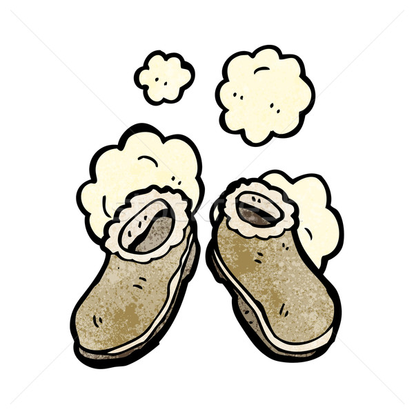 cartoon slippers Stock photo © lineartestpilot