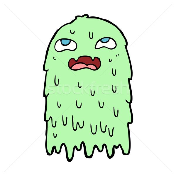 gross cartoon ghost Stock photo © lineartestpilot