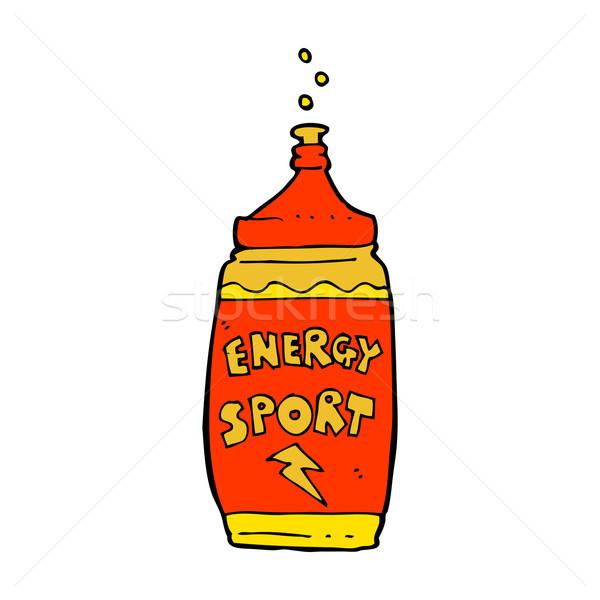 Rajz energiaital kéz sport terv energia Stock fotó © lineartestpilot