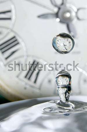 Drops of time.  Stock photo © linfernum