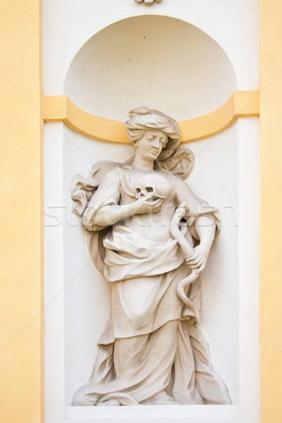 Foto d'archivio: Barocco · scultura · simboli · arti · salute · palazzo