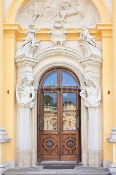 Baroque sculpture. Stock photo © linfernum