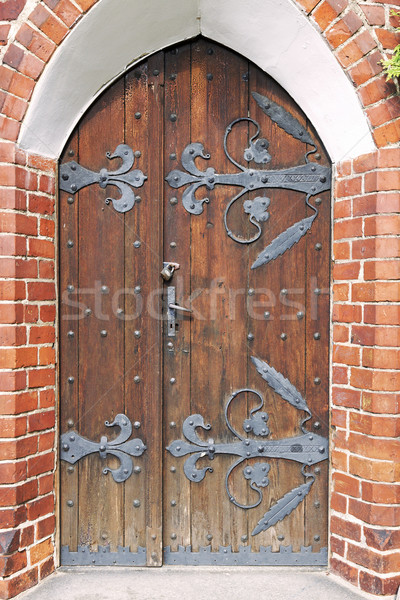 Classical architecture. Stock photo © linfernum