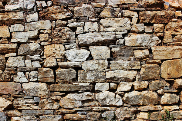 Wyschnięcia mur starych wiejski tradycyjny domu Zdjęcia stock © Lio22