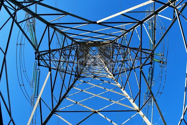 Electricity pylon Stock photo © Lio22