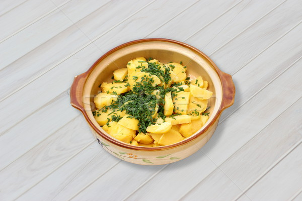 Stock photo: Potato salad