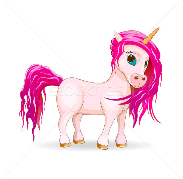 My lovely unicorn Stock photo © liolle