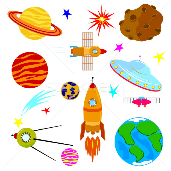 Astronautics Stock photo © liolle
