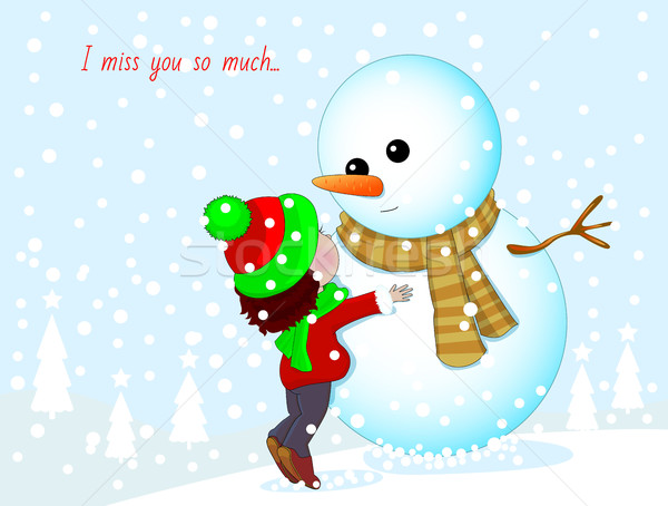 I miss you so much Stock photo © liolle
