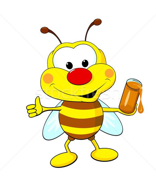 蜂 はちみつ 面白い 漫画 jarファイル ストックフォト © liolle