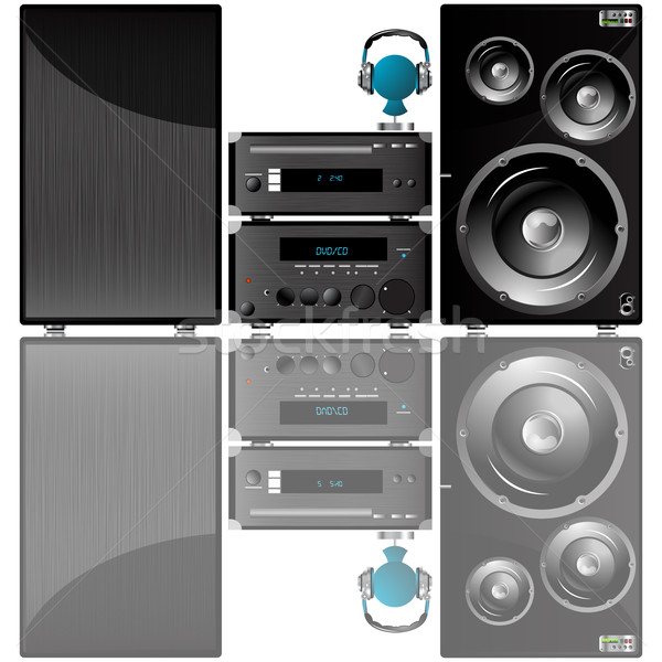 Audio system Stock photo © lirch