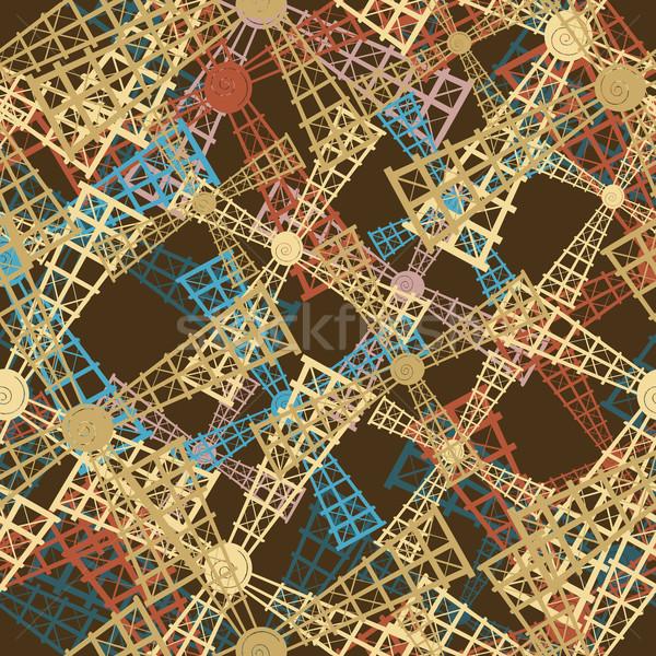 windmills pattern Stock photo © lirch