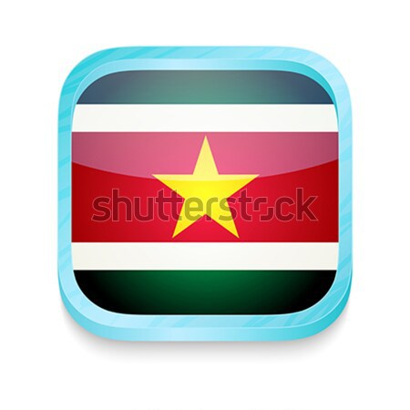 Smart phone button with North Korea flag Stock photo © lirch