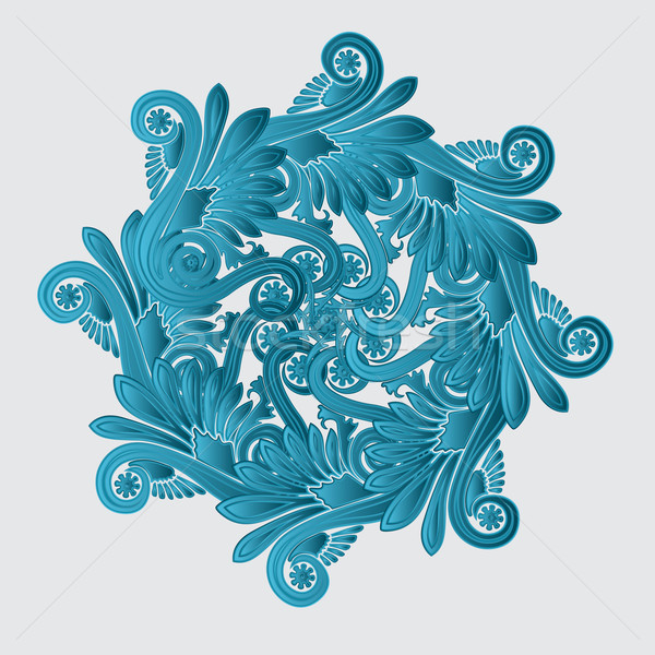 Decorative flourish design Stock photo © lirch