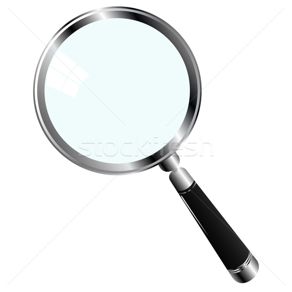 magnifying glass Stock photo © lirch