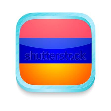 кнопки Габон флаг телефон кадр Сток-фото © lirch