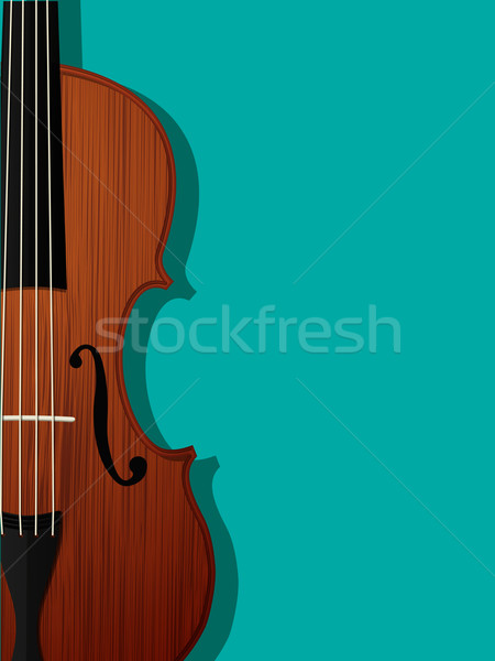 Violin composition Stock photo © lirch