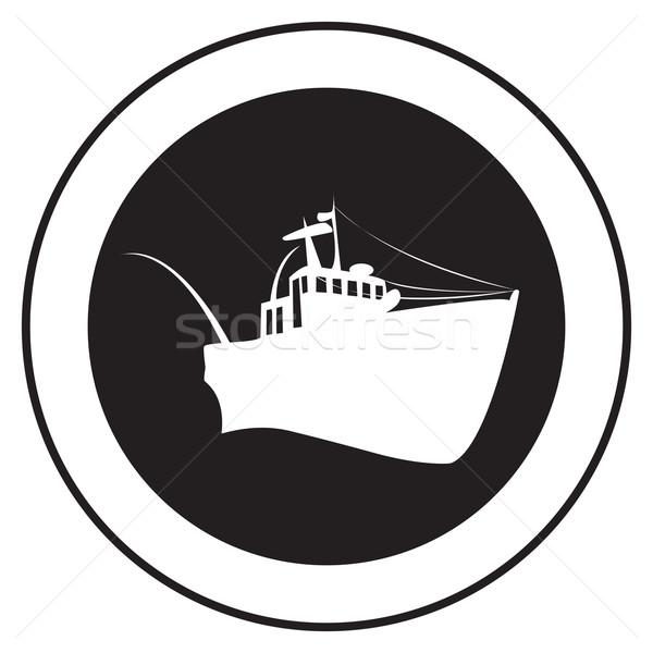 Emblem of an old ship 6 Stock photo © lirch