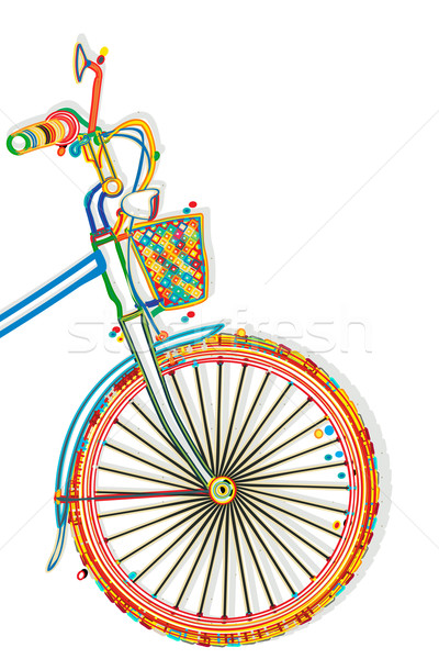 Bicycle Template Stock photo © lirch