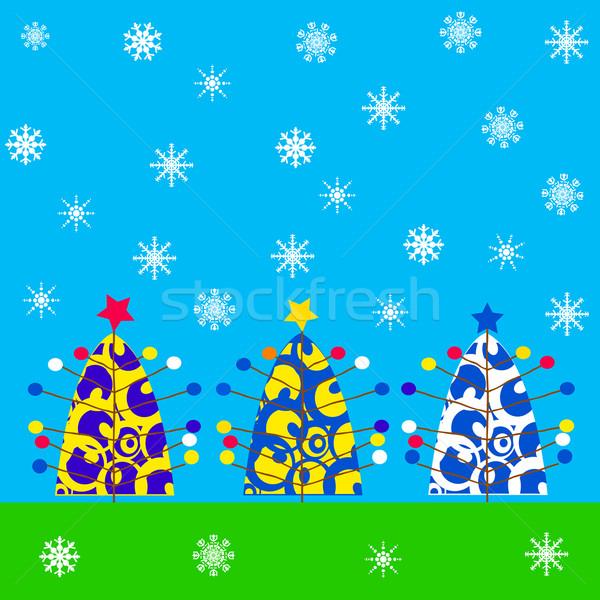 Christmas card Stock photo © lirch
