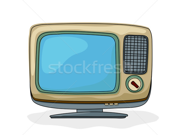 Retro tv Stock photo © lirch