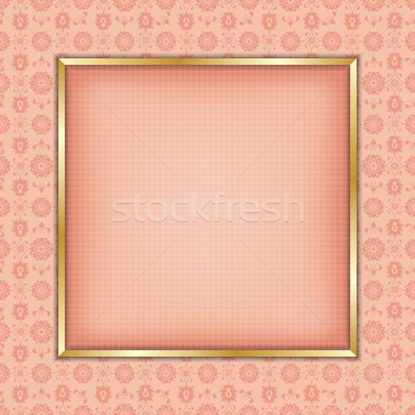 Decorative frame ornament Stock photo © lirch