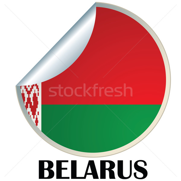 Belarus Sticker Stock photo © lirch