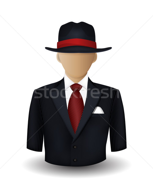 Mobster avatar Stock photo © lirch