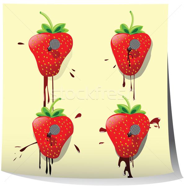 Strawberry Stock photo © lirch