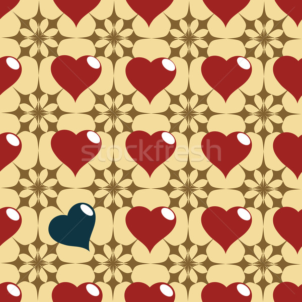 hearth pattern Stock photo © lirch