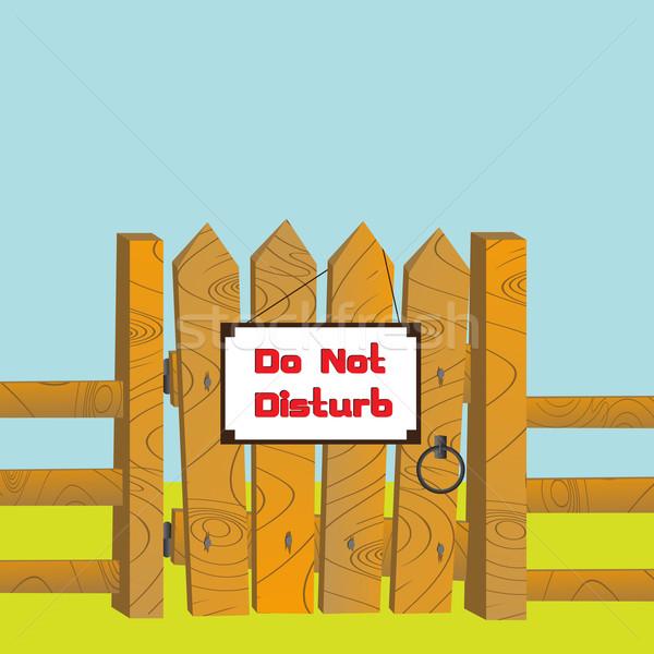Do no disturb Stock photo © lirch